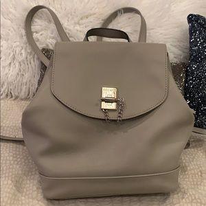 Nine West light grey backpack